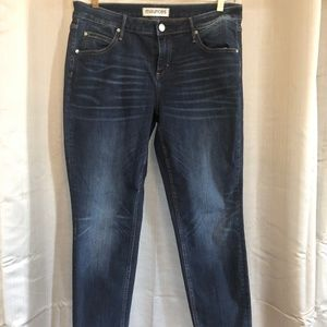 Maurices Skinny Blue Jeans Size 14